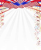 American style background