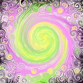 Black Fantasy Swirl