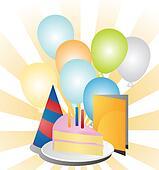 Festive birthday party