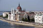 Hungarian parliament - famous landmark