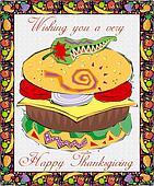 Greetingcard-Thanksgiving