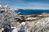 Lake Tahoe view from the mountain