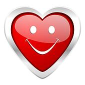 smile valentine icon