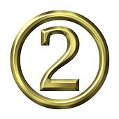 3D Golden Number 2