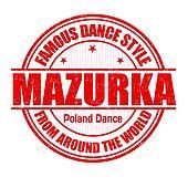 Mazurka stamp