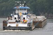 Tugboat & Barge 1