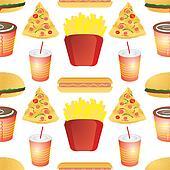 fast food tile