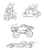 Ottomotive Sport Symbol Collection