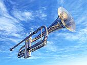 Trumpet in New Orleans