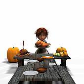 Rustic Harvest Feast
