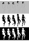 Dancing Girl Sequence