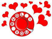 phone of love