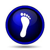 Foot print icon