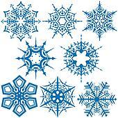 Snowflakes C