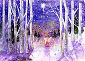 Winter Angel Peace Dove