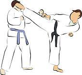 fight and kick