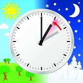 time change to standard time