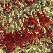 camouflage bloodstained