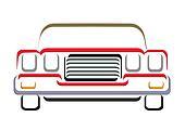 CAR LINE ART