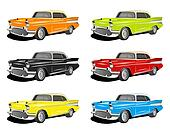 COLORFUL CLASSIC CARS