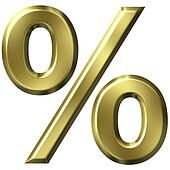 3D Golden Percentage
