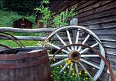 Barrel & Wagon Wheel