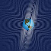 Earth Rings Radiate Global Communication