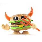 3d Devil burger