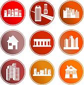 architecture sign icons