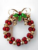 jinglebell wreath