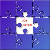 puzzle - job offer