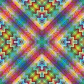 American Indian Textile Pattern