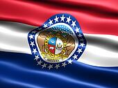 State flag: Missouri