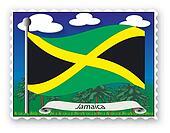 Stamp Jamaica