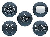 Pagan Buttons
