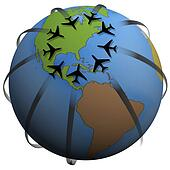 Airline Travel Destination: Eastern US