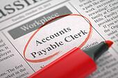 Accounts Payable Clerk Hiring Now.
