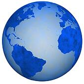 Big Blue Earth Globe