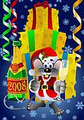 Santa Claus Rat