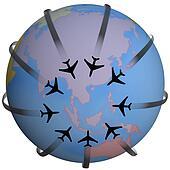 Airline Travel Destination Asia