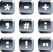 symbol  buttons