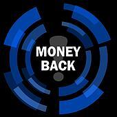 money back black background simple web icon