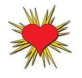 starburst Heart