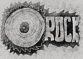 Doodle concept rock music