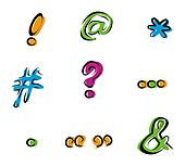 Marks and Signs Icons