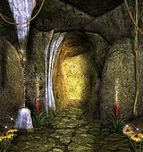 Enchanted cave
