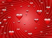 Valentine Floating Hearts