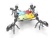 Jigsaw Puzzle-teamwork concept
