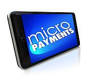 Micropayments Sending Money Via Smart Cell Phone Mobile Paying