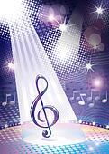music symbol concept